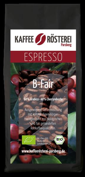 Unser exklusiver Bio-Espresso