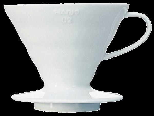 Hario V60 Dripper 02 Ceramic ehite